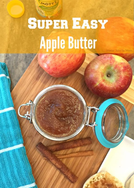 Super Easy Apple Butter Recipe + The Secret Life of Pets Movie Ticket Offer