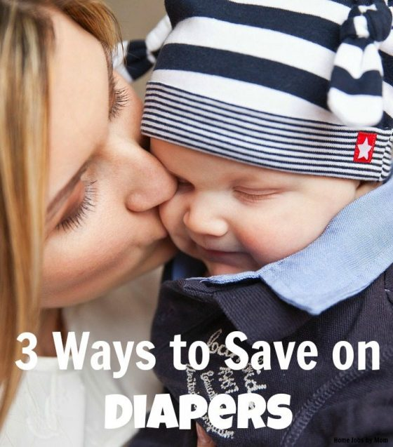 3 Ways to Save on Diapers