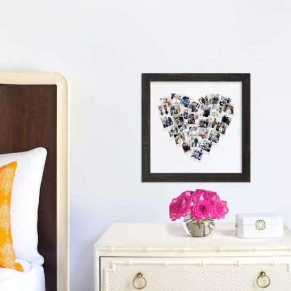 Heart Snapshot Mix® Photo Art custom photo art