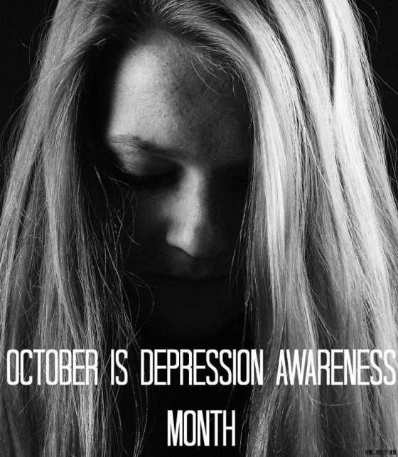 October Is Depression Awareness Month