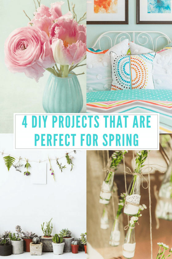 4 DIY Projects That Are Perfect For Spring