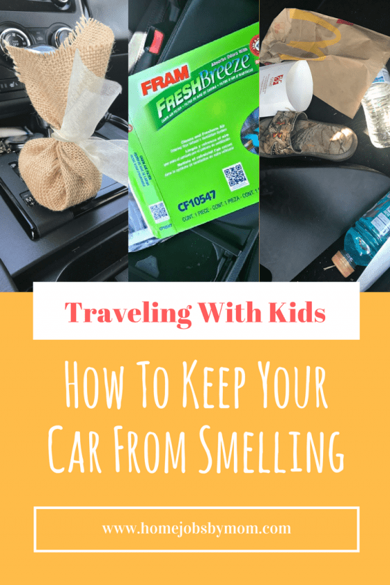 How To Keep Your Car From Smelling Even With Kids In Tow