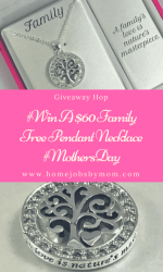 #Win A $60 Family Tree Pendant Necklace #MothersDay