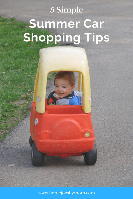 5 Summer Car Shopping Tips