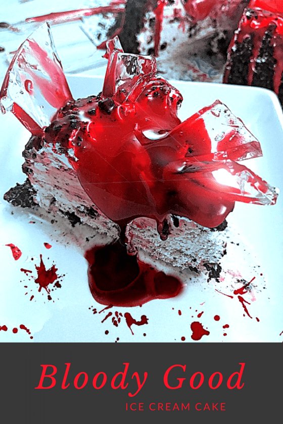 Bloody Good Ice Cream Cake