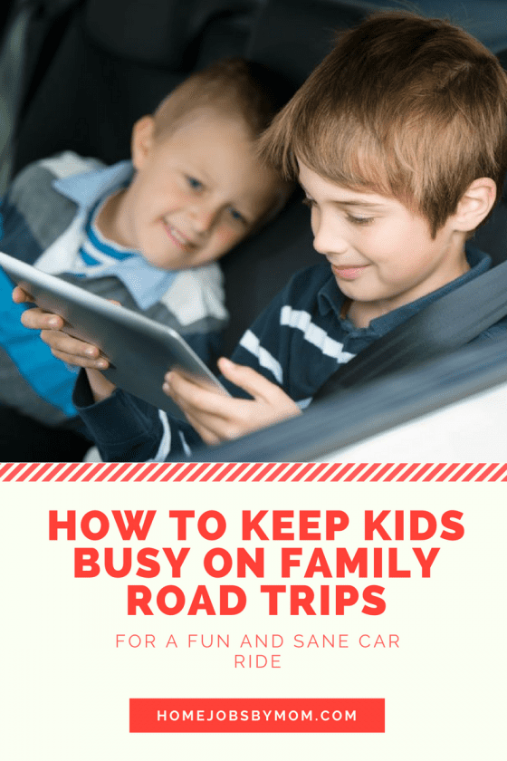 How to Keep Kids Busy on Family Road Trips + Giveaway #rwm #SweetSummertime