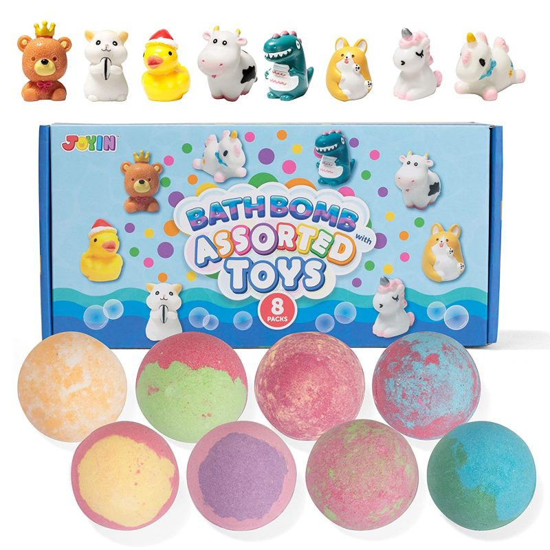toy bath bombs