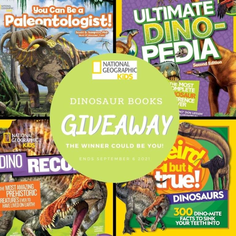 National Geographic Kids Dinosaur Books