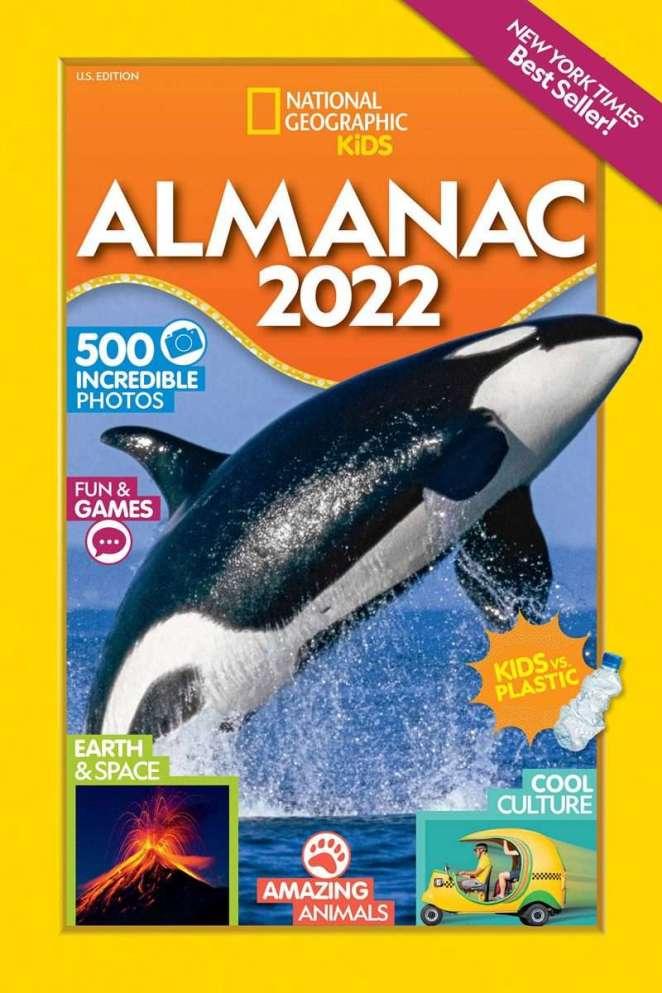 National Geographic Kids Almanac 2022, U.S. Edition