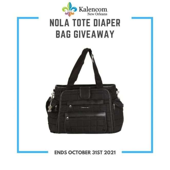 Nola Tote Diaper Bag Giveaway