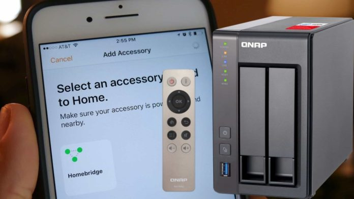 How to install HomeBridge on a QNAP Nas wit