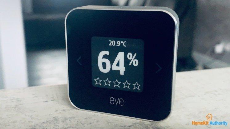 Eve room E-ink reader
