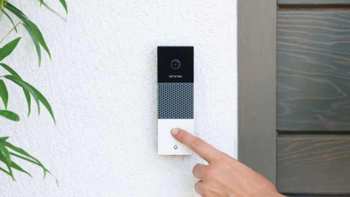 Netatmo smart video doorbell release