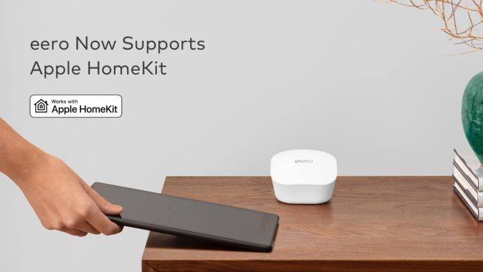 eero mesh router homekit support