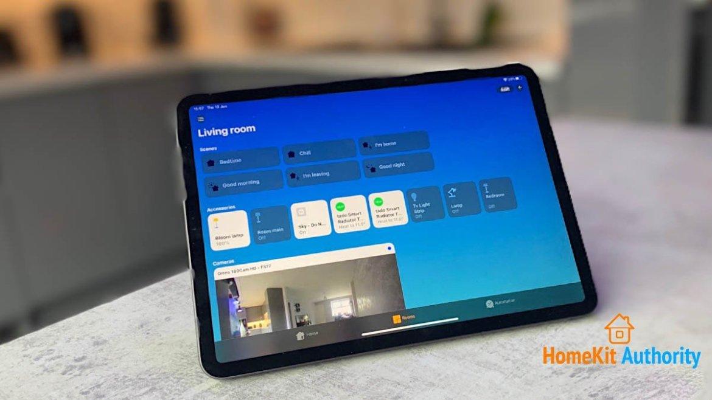 HomeKit Hub iPad