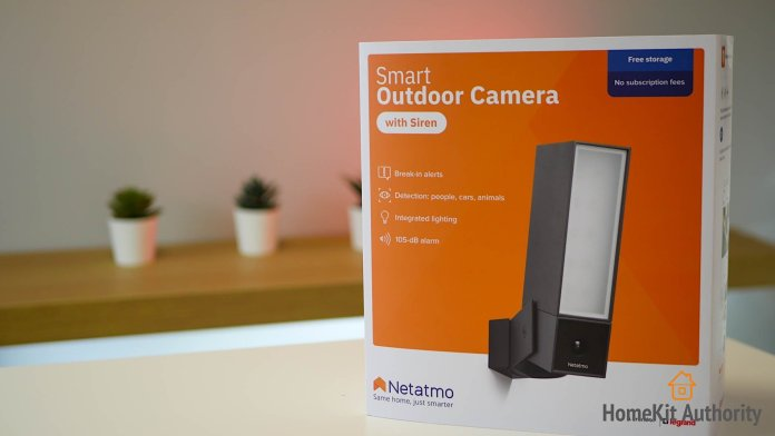 netatmo smart outdoor camera siren review