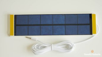 Soma Smart Shades 2 solar panel