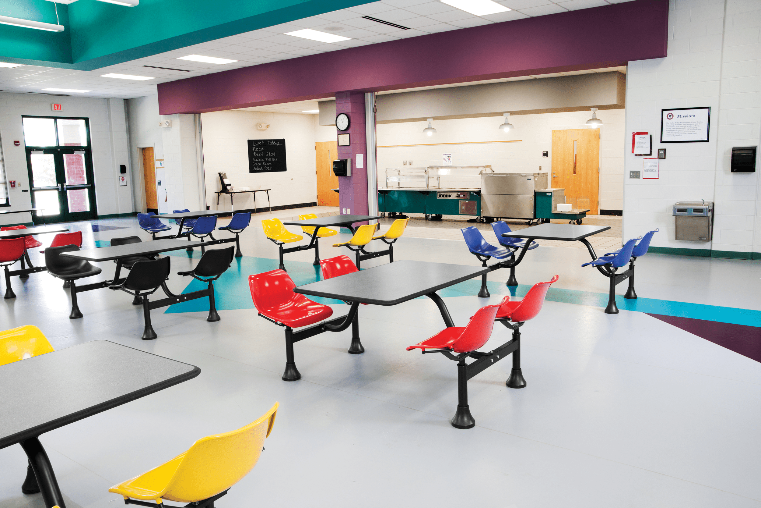 Cafeteria Seating Mix Or Match Colors 8886610845 Fast Delivery