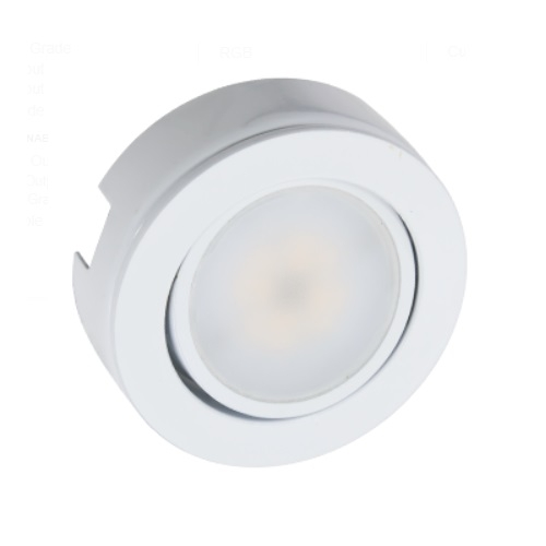 american lighting 4 3w mvp led single puck light kit dimmable 250 lm 120v 3000k white mvp 1 30 wh