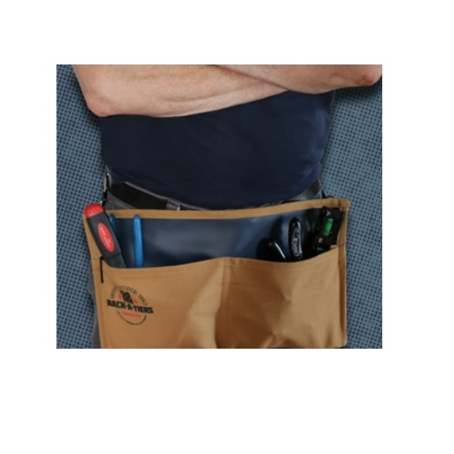 rack a tiers snap sack canvas leather tool apron 43150