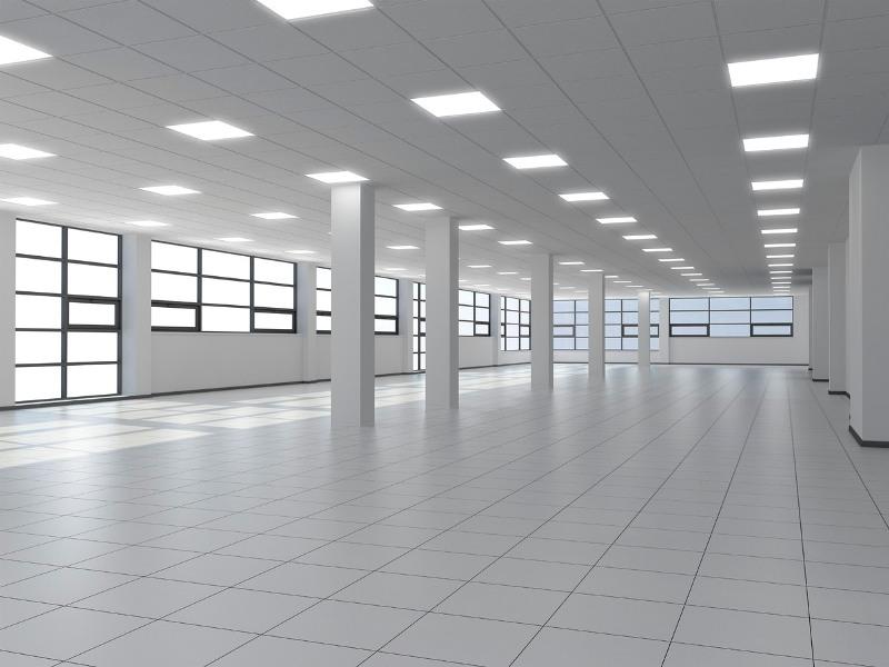 Replace Fluorescent Light Fixture Led