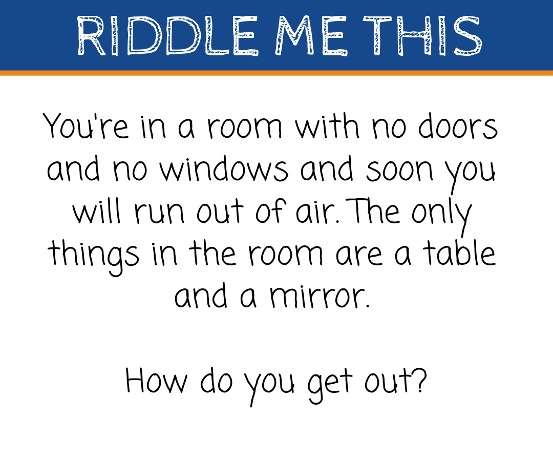Riddle Me This Homelectrical S Riddles With Answers