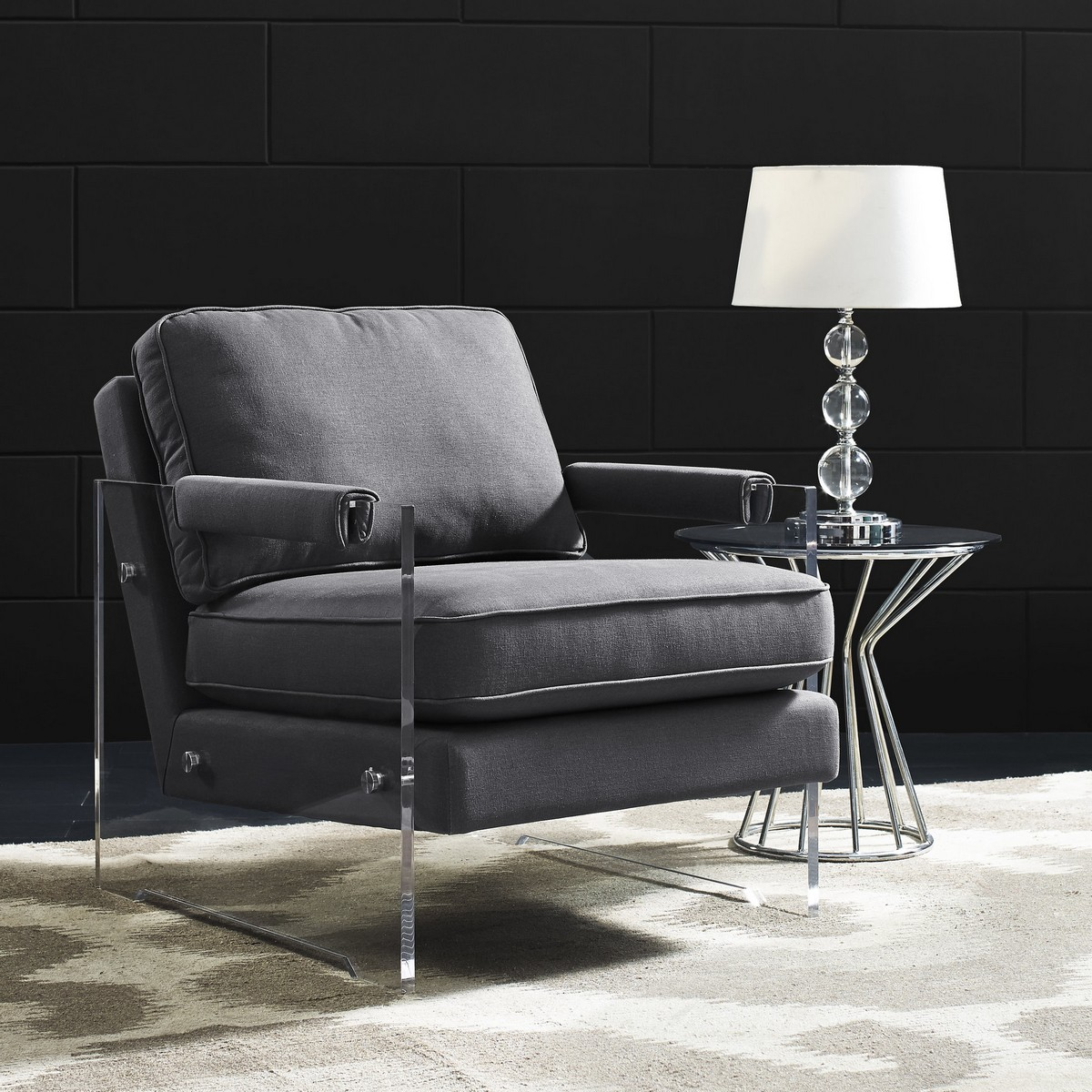 Tov Furniture Serena Floating Lucite Chair A71 At