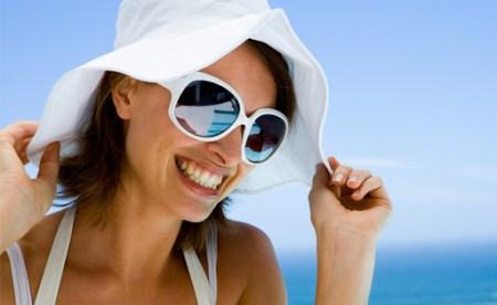 Para se proteger, use óculos de sol