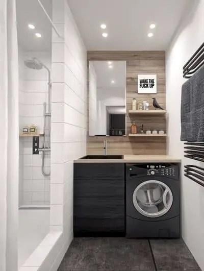 9 petites salles de bains avec lave