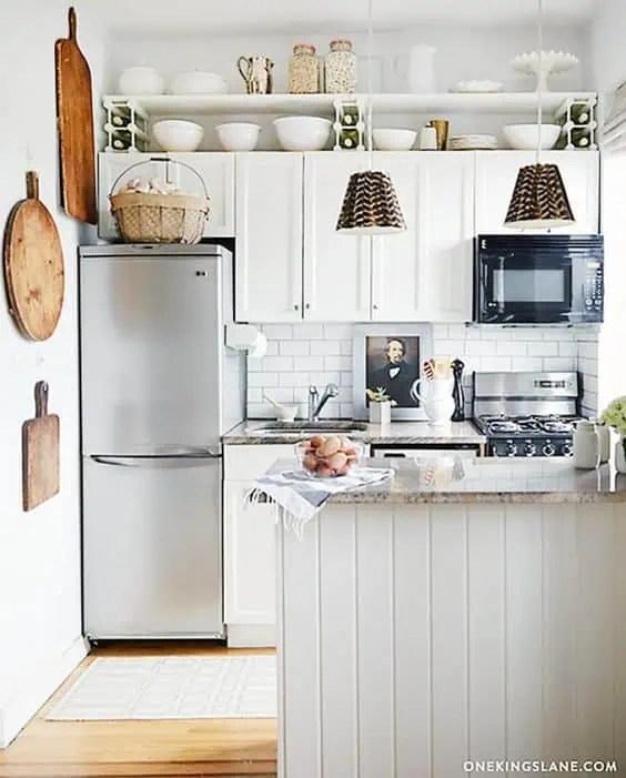 33 laissez vous inspirer par cette petite cuisine elegante et pratique