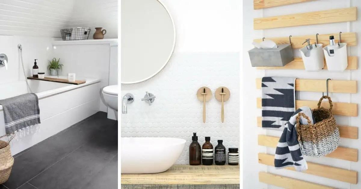 10 Idees Deco Diy Pour La Salle De Bains Quand On Est Locataire