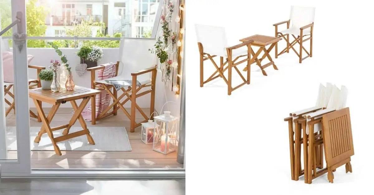 salon de jardin pour petit balcon the