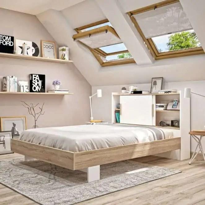 de lit avec rangement diy