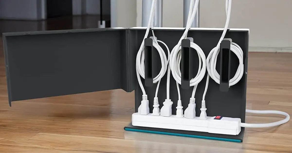 18 Idees Pour Cacher Ranger Vos Cables Fils Prises Et Multiprises
