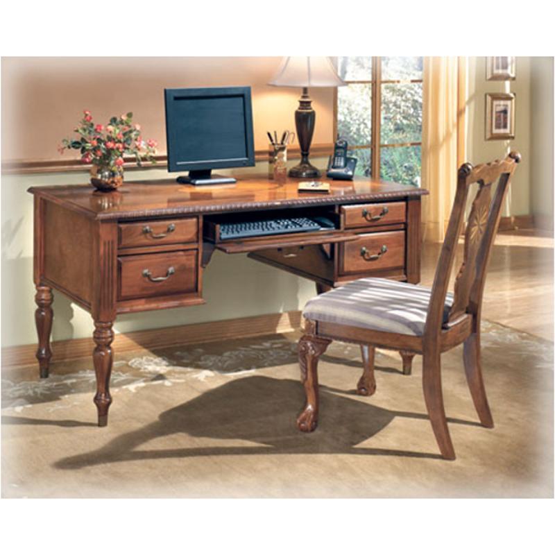 H217 27 Ashley Furniture Home Office Leg Desk