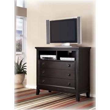 B551 39 Ashley Furniture Martini Suite Bedroom Media Chest