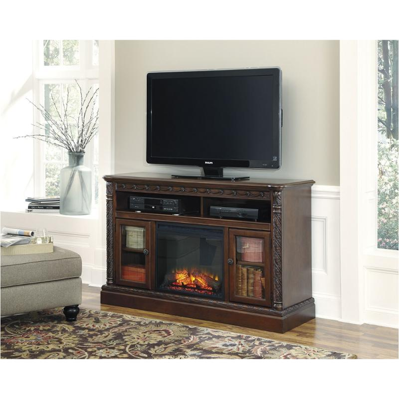 W553 68 Ashley Furniture Large Tv Stand With Fireplace Option