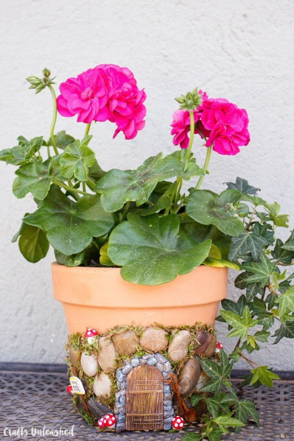 Magical DIY Fairy House Planter