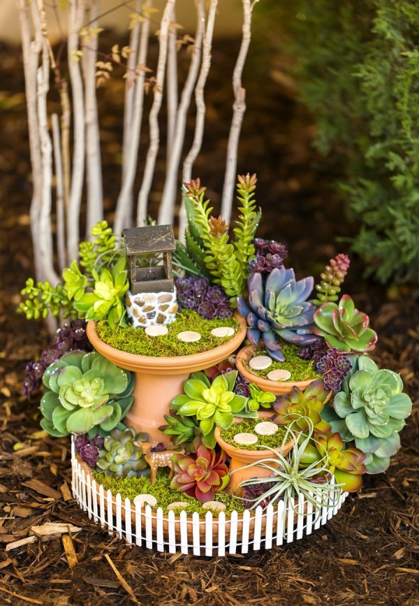Fairy Garden Wishing Well