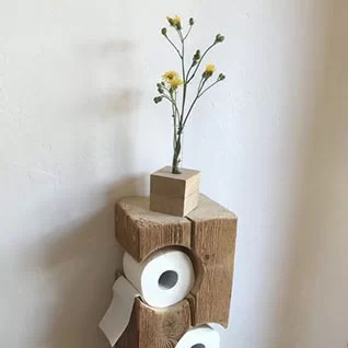 Pallet Toilet Roll Holder