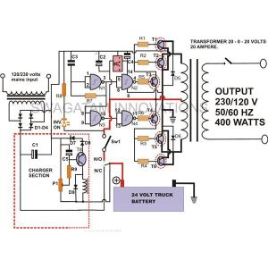 How to Build a 400 Watt High Power Inverter Circuit | Homemade Circuit Projects
