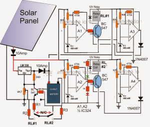Solar Panel Optimizer Circuit