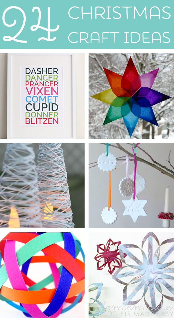 Festive Christmas Craft Ideas