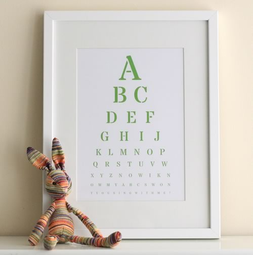 Fancy Eye Chart Maker Create Custom EyeCharts Online