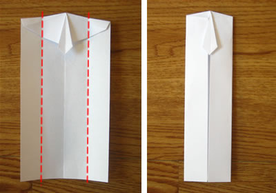 Money Origami Shirt And Tie Folding Instructions