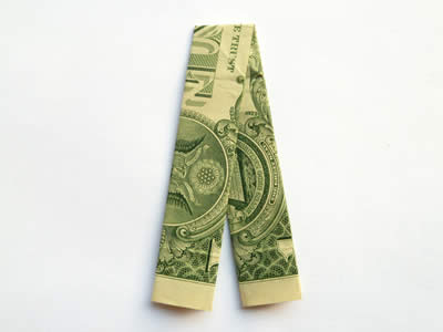 Make Money Origami Trousers Or Pants Step By Step