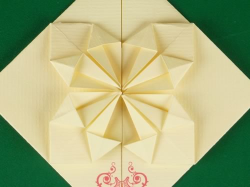 How To Make Origami Heart Love Notes Step By Step