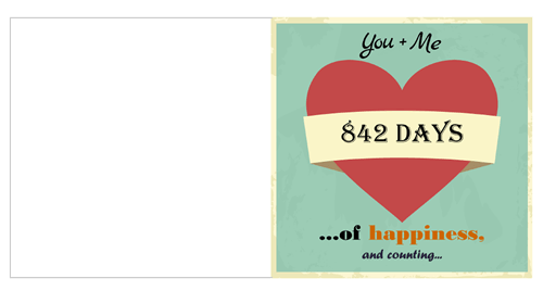 Hurray A Printable Valentine Card That Means Something