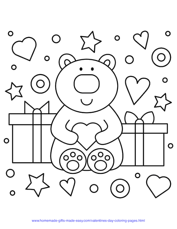 40 Valentine S Day Coloring Pages Pdf Printables