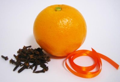 easy to make christmas decorations clove orange materials
